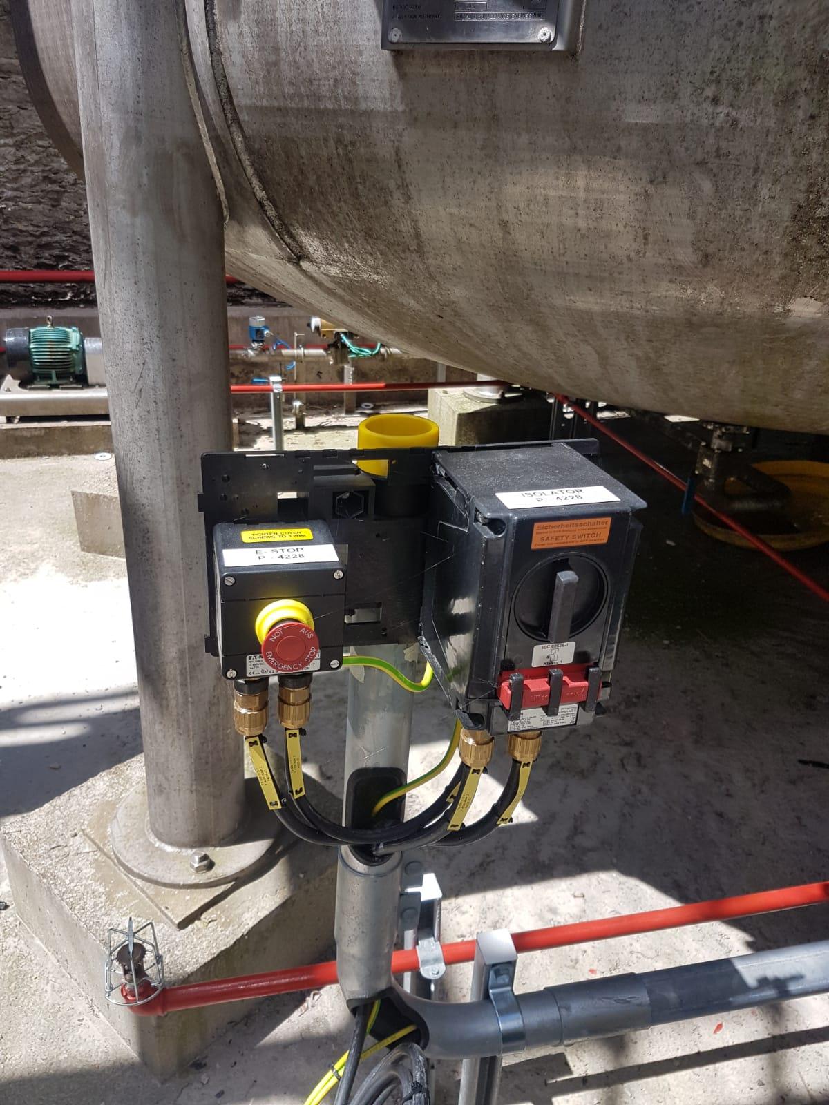 Acetone Storage Tank Project